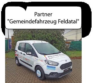 Gemeindefahrzeug Feldatal